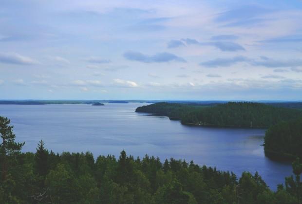 landscape, lake, view